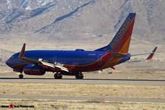 N432WN - 33715 1297 - Southwest Airlines - Boeing 737-7H4 - Albuquerque, New Mexico - 141229 - Steven Gray - IMG_1434
