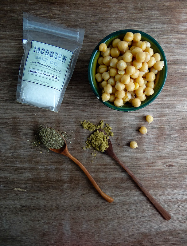 za'atar roasted chickpeas //smbp