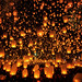 Tudongkasatarn is where floating lamp ceremony by anekphoto