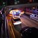 Ambulance On Brooklyn Bridge by Dave Gorman