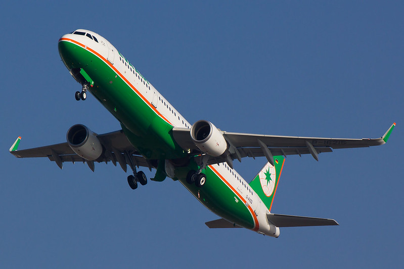 Eva Air - A321 - D-AVZQ (1)