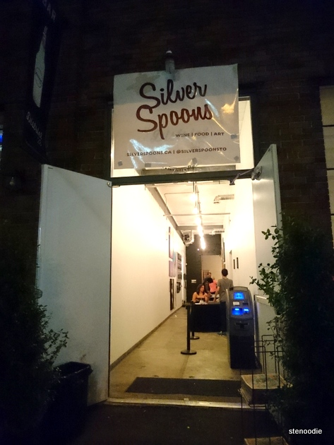 Entrance to Silver Spoons
