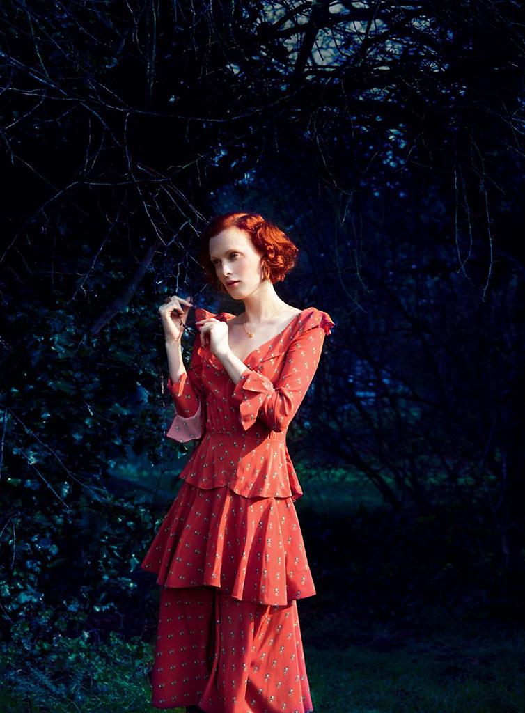 Карен Элсон — Фотосессия для «Harper's Bazaar» UK 2016 – 6