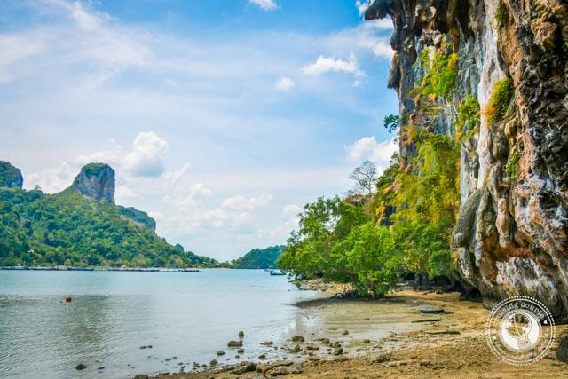 Rock Climbing Railay Thailand
