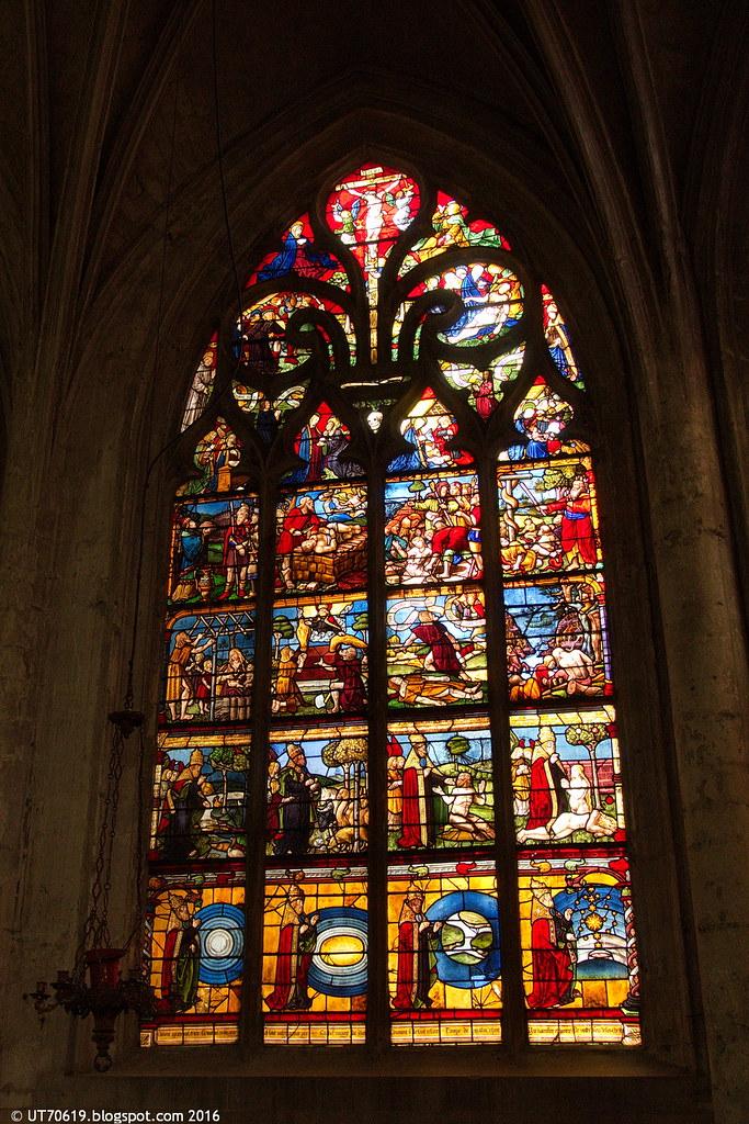St. Madeleine altes Fenster