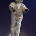 Alexey Leonov's first spacewalk spacesuit replica.