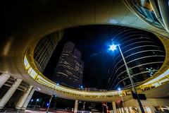 Chevron Plaza skywalk in downtown Houston @ 1400 Smith Street