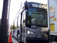 2016 New Flyer Industries XN60 MARTA Bus#1701