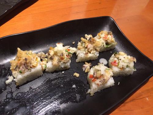 Lima: sushis à la cebiche
