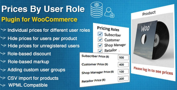 WooCommerce Prices By User Role v2.7