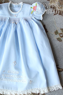 Bella a smocked Daygown