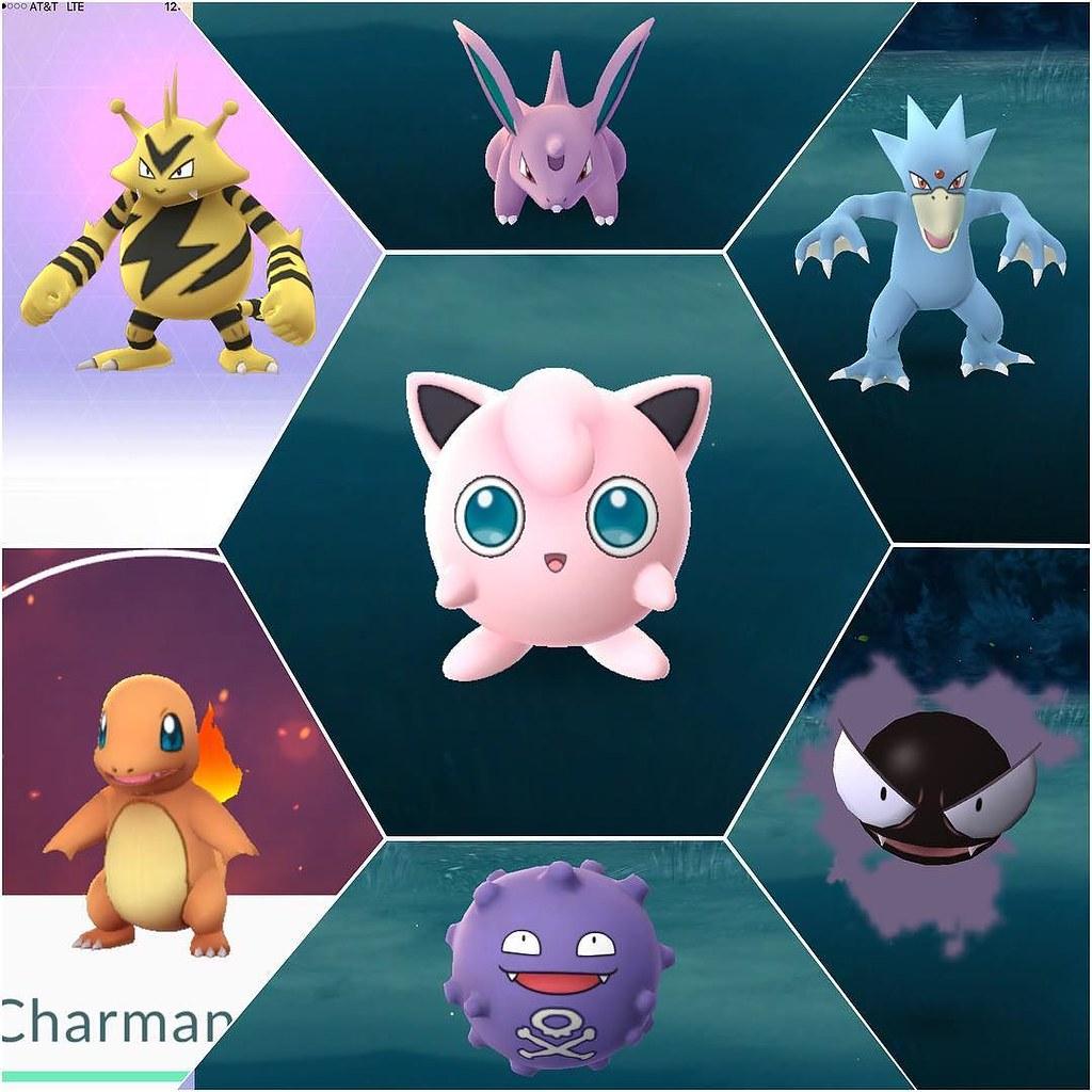 Egg Hatches: Charmander, Electabuzz Wild Catches: Gastly, Golduck, Jigglypuff, Koffing, Nidoran♂ #pokemongo?