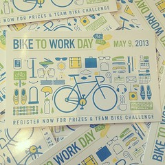 Bike to work day is May 9th.