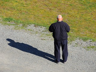 Man and Shadow