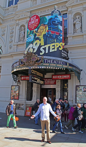 Criterion Theatre 39 Steps London by Kinzler Pegwell