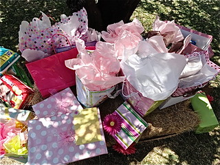 gifts at baby shower