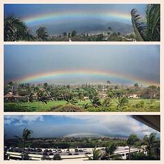 Gotta have some #rain in #paradise  to make some #rainbow #maui #SheratonMaui #kaanapali #hillside #golf #panorama #photooftheday #pimpassparadise #shoots @mauihi @genaferl @ainagourmet @mugen_aftermath @cool_photos @kimmit @mytravelgram @nberkeymaui