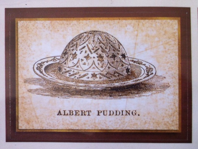 Victorian kitchen sticker albert pudding