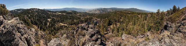 Hobart Bluff panorama, Cascade-Siskiyou National Monument, Oregon