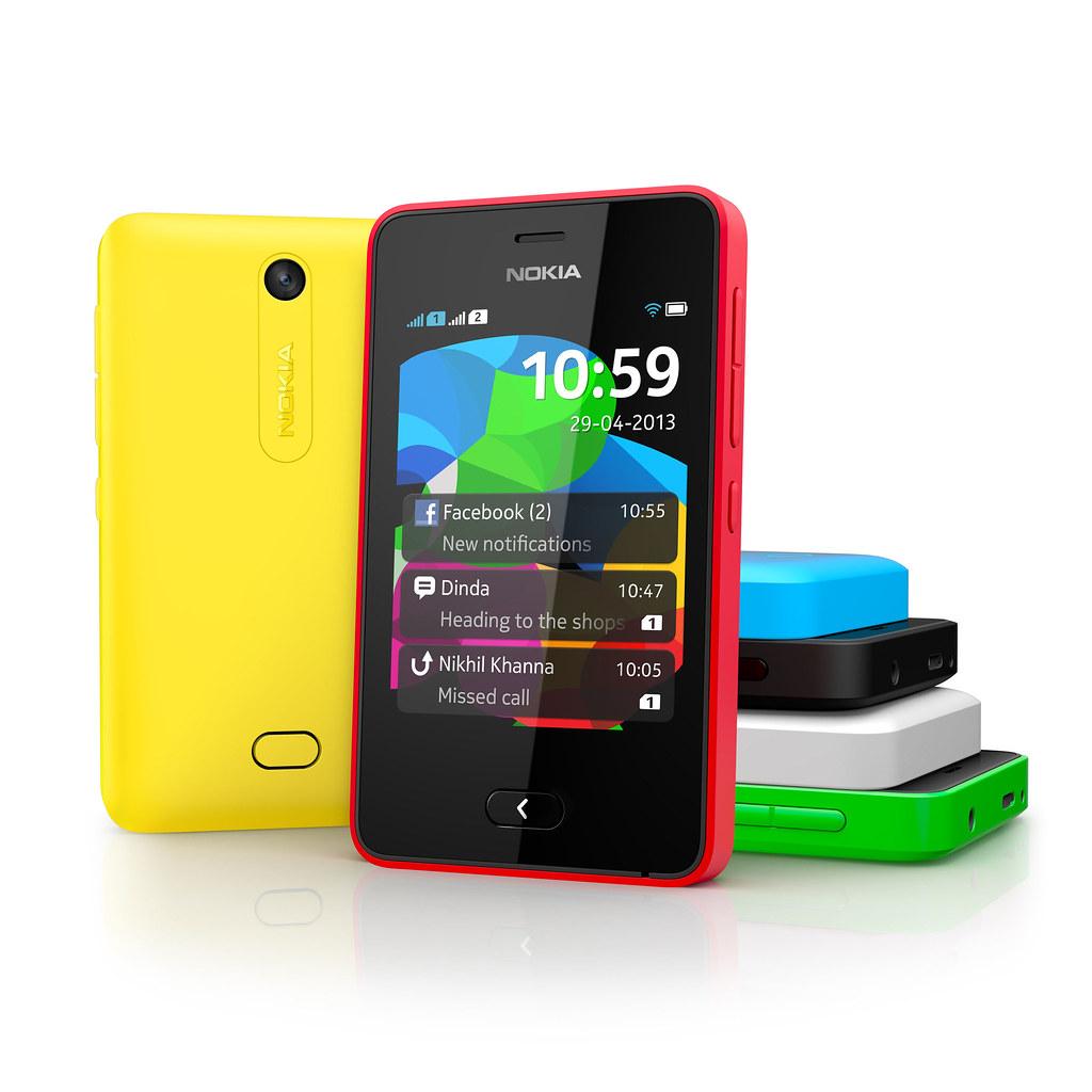 Nokia Asha 501 Color Range