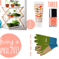 loving in april mini