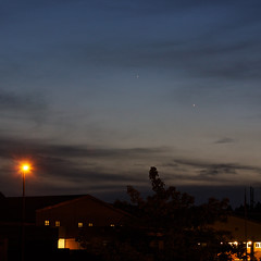Conjunction of Jupiter, Venus, and Mercury (May 26, 2013)