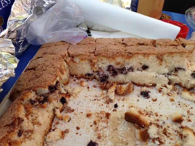 One of signature treats at Sequoia: Hobee's Coffee Cake