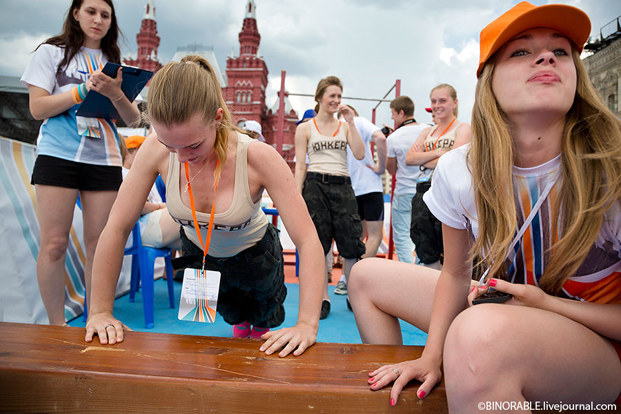 Военно-спортивный форум ГТО 2013 на Красной площади. Фото: ©binorable.livejournal.com