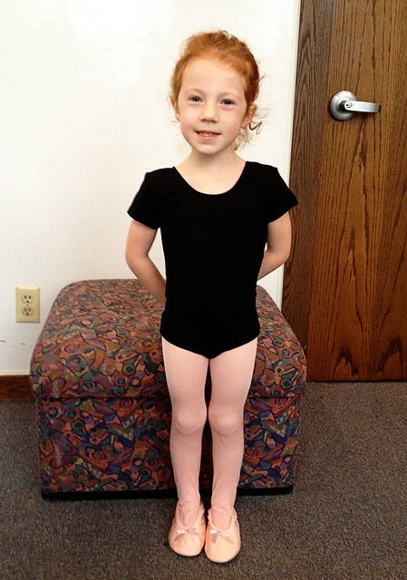 First day of Ballet!