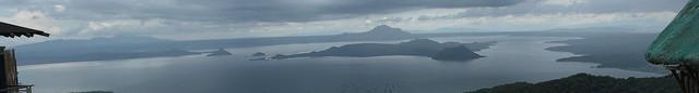 Header of taal lake