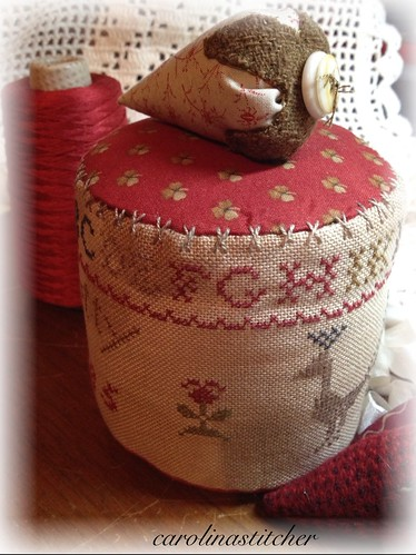 Netty's Sampler Pinkeep Drum~Stacy Nash