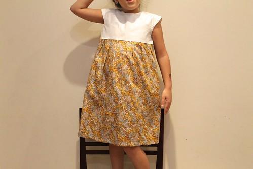 Big Geranium Dress