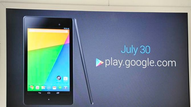 Когда выйдет новый Nexus 7
