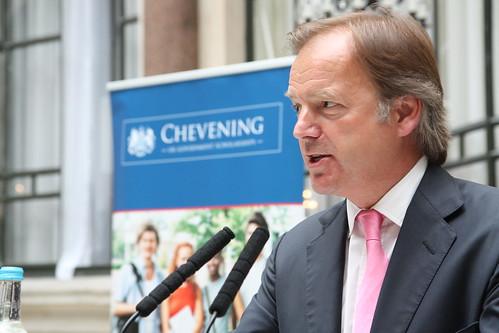 Farewell reception for 2012/13 Chevening Scholars