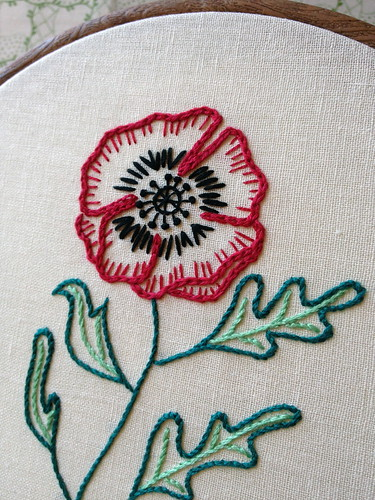 Wizard of Oz Poppies - New Pattern