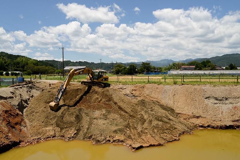 建設機械excavator cat3200