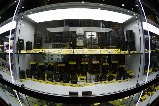 Nikkor Lens Showcase @ Berjaya Times Square's Nikon Centre