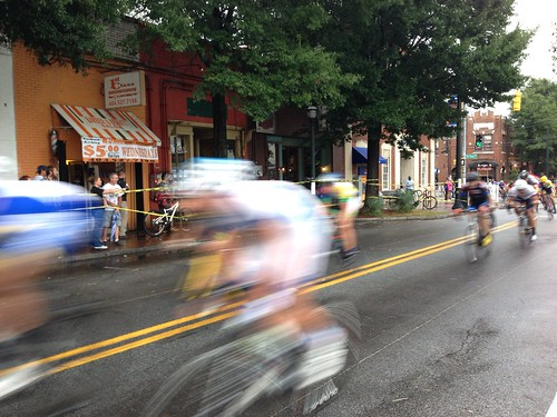 East Atlanta Criterium As Seen By An iPhone
