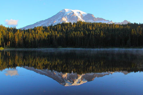 IMG_7692 Reflection Lakes, Mount Rainier National Park by ThorsHammer94539