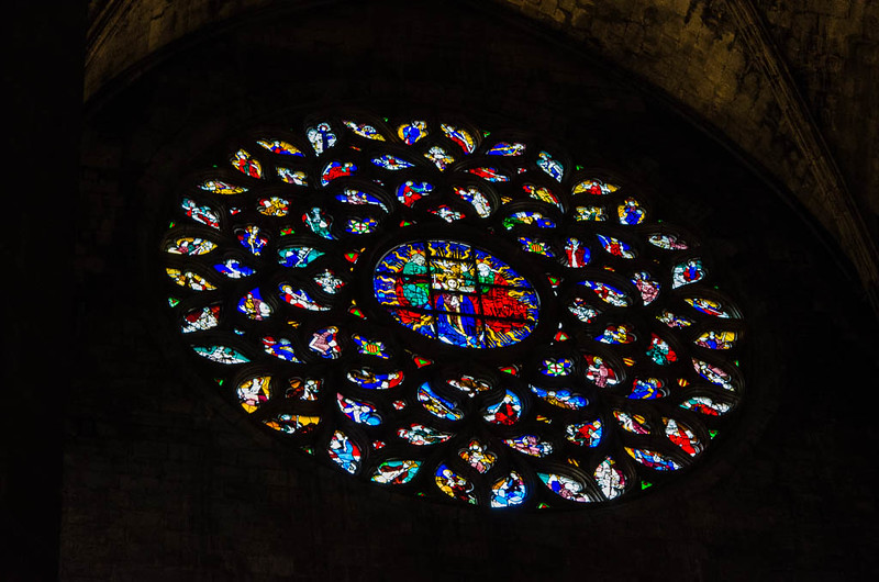 Santa Maria del Mar window