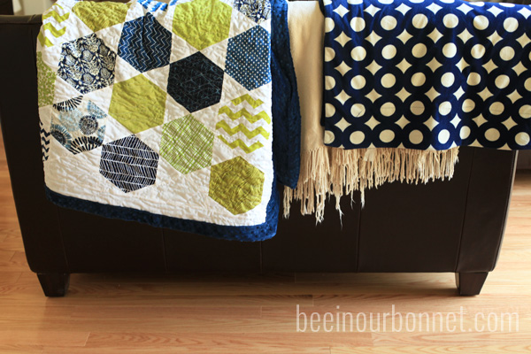 hexagon quilt 2