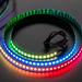 Adafruit NeoPixel Digital RGB LED Strip 144 LED - 1m Black - BLACK by adafruit