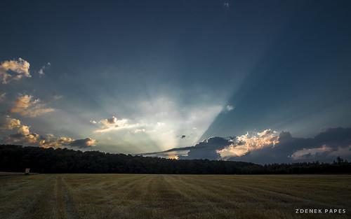 Sunset by Zdenek Papes