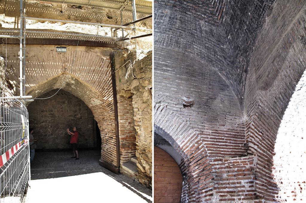 4. castillo buitrago de lozoya_restaurado versus no restaurado