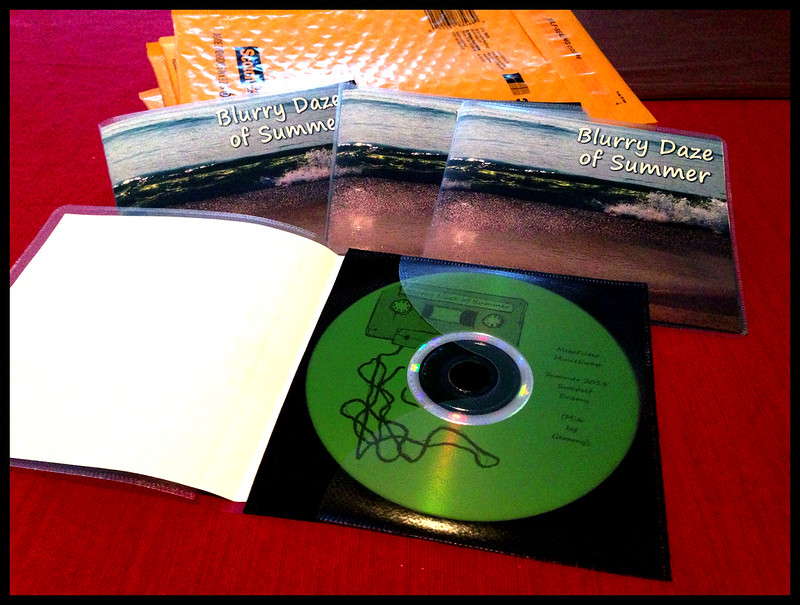 CDs to be Mailed - Blurry Daze of Summer - MeFi Music Swap - Summer 2013