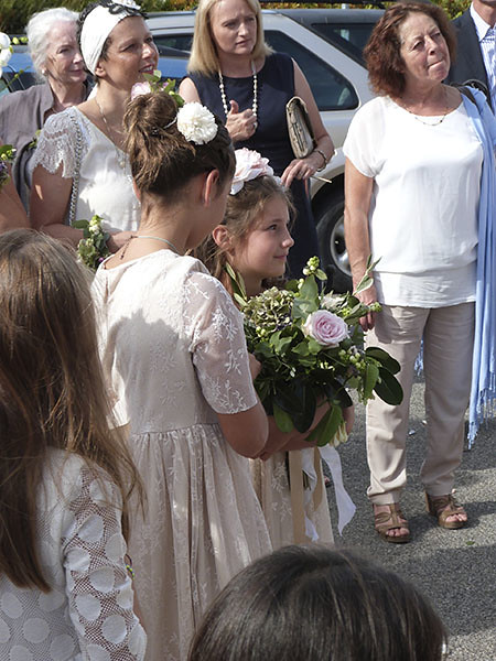 bouquet reçu