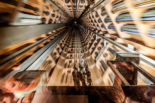 Ascenseur de l'atonium