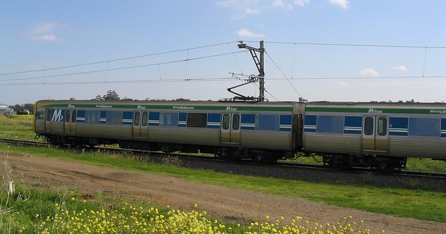 M>Train on the Upfield line (October 2003)