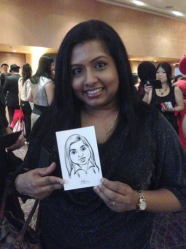 Digital live caricature for NTUC D&D 2013 - 6a