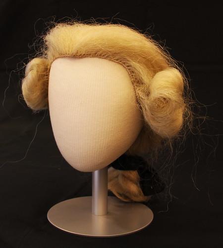 Colonial-style Horsehair Peruke Wig worn by previous William & Mary President John Stewart Bryan